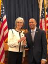 Democratic Caucus Vice Chair Katherine Clark and Chair Hakeem Jeffries